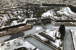 真冬の北海道