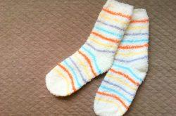 永久交換保証の靴下